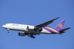 SGR RT 改さんが、成田国際空港で撮影したタイ国際航空 777-2D7/ERの航空フォト(飛行機 写真・画像)