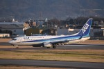 kumagorouさんが、松山空港で撮影した全日空 737-881の航空フォト(飛行機 写真・画像)