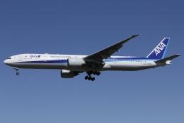 知希(仮)さんが、成田国際空港で撮影した全日空 777-381/ERの航空フォト(飛行機 写真・画像)