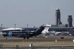 知希(仮)さんが、成田国際空港で撮影したウィルミントン・トラスト・カンパニー BD-700-1A10 Global 6000の航空フォト(飛行機 写真・画像)