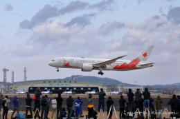 かずかずさんが、松島基地で撮影した日本航空 787-8 Dreamlinerの航空フォト(飛行機 写真・画像)