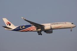 sky-spotterさんが、成田国際空港で撮影したマレーシア航空 A350-941の航空フォト(飛行機 写真・画像)