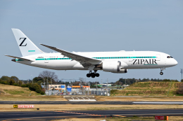 成田国際空港 - Narita International Airport [NRT/RJAA]で撮影されたZIPAIR - ZIPAIRの航空機写真