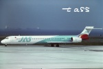 tassさんが、羽田空港で撮影した日本エアシステム MD-90-30の航空フォト(飛行機 写真・画像)