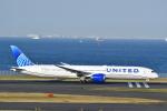 チョロ太さんが、羽田空港で撮影したユナイテッド航空 787-10の航空フォト(飛行機 写真・画像)