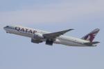 キイロイトリさんが、関西国際空港で撮影したカタール航空カーゴ 777-FDZの航空フォト(飛行機 写真・画像)