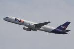 キイロイトリさんが、関西国際空港で撮影したフェデックス・エクスプレス 757-204(SF)の航空フォト(飛行機 写真・画像)
