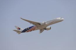 マーサさんが、成田国際空港で撮影したマレーシア航空 A350-941の航空フォト(飛行機 写真・画像)