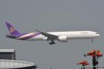 kuro2059さんが、香港国際空港で撮影したタイ国際航空 777-3AL/ERの航空フォト(飛行機 写真・画像)