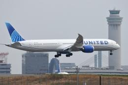 多摩川崎2Kさんが、羽田空港で撮影したユナイテッド航空 787-10の航空フォト(飛行機 写真・画像)