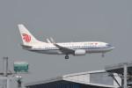 kuro2059さんが、香港国際空港で撮影した中国国際航空 737-79Lの航空フォト(飛行機 写真・画像)