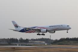 airdrugさんが、成田国際空港で撮影したマレーシア航空 A350-941の航空フォト(飛行機 写真・画像)