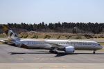 kikiさんが、成田国際空港で撮影したエティハド航空 787-9の航空フォト(飛行機 写真・画像)