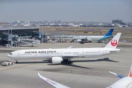 SGR RT 改さんが、羽田空港で撮影した日本航空 777-346/ERの航空フォト(飛行機 写真・画像)