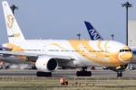 Timothyさんが、成田国際空港で撮影したノックスクート 777-212/ERの航空フォト(飛行機 写真・画像)