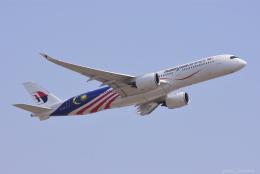 ぱん_くまさんが、成田国際空港で撮影したマレーシア航空 A350-941の航空フォト(飛行機 写真・画像)