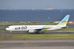 東空さんが、羽田空港で撮影したAIR DO 767-33A/ERの航空フォト(飛行機 写真・画像)