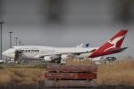 美月推しさんが、羽田空港で撮影したカンタス航空 747-438/ERの航空フォト(飛行機 写真・画像)