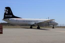 Gripen-YNさんが、能登空港で撮影したエアロラボ YS-11A-212の航空フォト(飛行機 写真・画像)