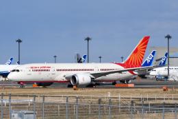 panchiさんが、成田国際空港で撮影したエア・インディア 787-8 Dreamlinerの航空フォト(飛行機 写真・画像)