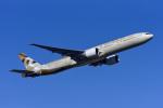 Frankspotterさんが、フランクフルト国際空港で撮影したエティハド航空 777-3FX/ERの航空フォト(飛行機 写真・画像)