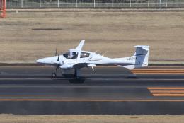 キイロイトリさんが、仙台空港で撮影したアルファーアビエィション DA42 TwinStarの航空フォト(飛行機 写真・画像)