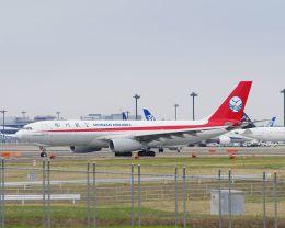 ladyinredさんが、成田国際空港で撮影した四川航空 A330-243Fの航空フォト(飛行機 写真・画像)