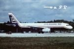 tassさんが、フォートローダーデール・ハリウッド国際空港で撮影したレジャー・エア A320-231の航空フォト(飛行機 写真・画像)