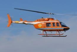ブルーさんさんが、東京ヘリポートで撮影した新日本ヘリコプター 206L-3 LongRanger IIIの航空フォト(飛行機 写真・画像)