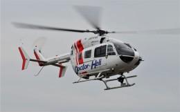 ヘリオスさんが、東京ヘリポートで撮影した朝日航洋 BK117C-2の航空フォト(飛行機 写真・画像)
