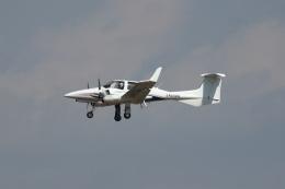 kunimi5007さんが、仙台空港で撮影したアルファーアビエィション DA42 NG TwinStarの航空フォト(飛行機 写真・画像)