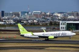 joepoさんが、宮崎空港で撮影したソラシド エア 737-86Nの航空フォト(飛行機 写真・画像)