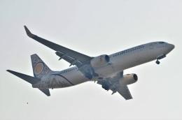 amagoさんが、スワンナプーム国際空港で撮影したミャンマー・ナショナル・エアウェイズ 737-86Nの航空フォト(飛行機 写真・画像)