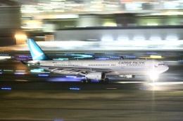 fujitaigram350さんが、羽田空港で撮影したキャセイパシフィック航空 A330-343Xの航空フォト(飛行機 写真・画像)