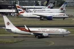 planetさんが、ロンドン・ヒースロー空港で撮影したアルジェリア航空 737-8D6の航空フォト(飛行機 写真・画像)