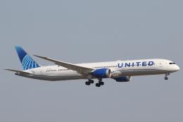 安芸あすかさんが、羽田空港で撮影したユナイテッド航空 787-10の航空フォト(飛行機 写真・画像)