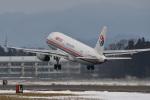 Cスマイルさんが、花巻空港で撮影した中国東方航空 A320-232の航空フォト(飛行機 写真・画像)
