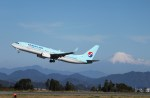mojioさんが、静岡空港で撮影した大韓航空 737-8B5の航空フォト(飛行機 写真・画像)