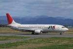 mojioさんが、静岡空港で撮影した日本トランスオーシャン航空 737-4Q3の航空フォト(飛行機 写真・画像)