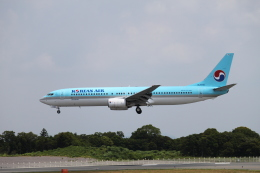 mojioさんが、静岡空港で撮影した大韓航空 737-9B5の航空フォト(飛行機 写真・画像)