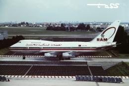 tassさんが、パリ オルリー空港で撮影したロイヤル・エア・モロッコ 747SP-44の航空フォト(飛行機 写真・画像)