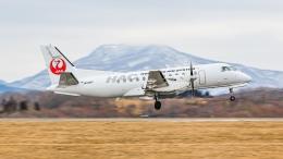 KAMIYA JASDFさんが、函館空港で撮影した北海道エアシステム 340B/Plusの航空フォト(飛行機 写真・画像)