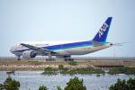 ちゃぽんさんが、那覇空港で撮影した全日空 777-281/ERの航空フォト(飛行機 写真・画像)