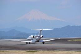 apphgさんが、静岡空港で撮影した静岡エアコミュータ 525A Citation CJ2の航空フォト(飛行機 写真・画像)