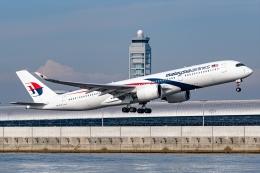 Ariesさんが、関西国際空港で撮影したマレーシア航空 A350-941の航空フォト(飛行機 写真・画像)