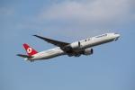mojioさんが、成田国際空港で撮影したターキッシュ・エアラインズ 777-35R/ERの航空フォト(飛行機 写真・画像)