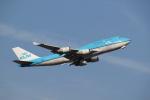 mojioさんが、成田国際空港で撮影したKLMオランダ航空 747-406の航空フォト(飛行機 写真・画像)