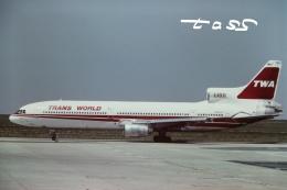 tassさんが、パリ シャルル・ド・ゴール国際空港で撮影したトランス・ワールド航空 L-1011-385-1-15 TriStar 100の航空フォト(飛行機 写真・画像)