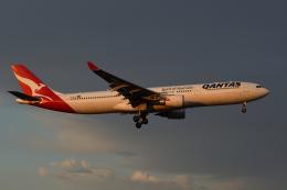 sepia2016さんが、成田国際空港で撮影したカンタス航空 A330-303の航空フォト(飛行機 写真・画像)