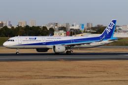 きんめいさんが、伊丹空港で撮影した全日空 A321-272Nの航空フォト(飛行機 写真・画像)